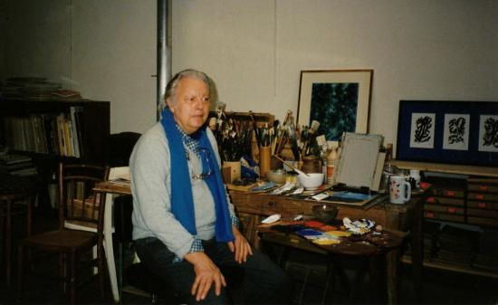 Marcel Dumont,Peinture abstraite,abstraction lyrique