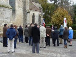 Cérémonie du 11 novembre à la Chapelle-Monthodon dans l'Aisne
