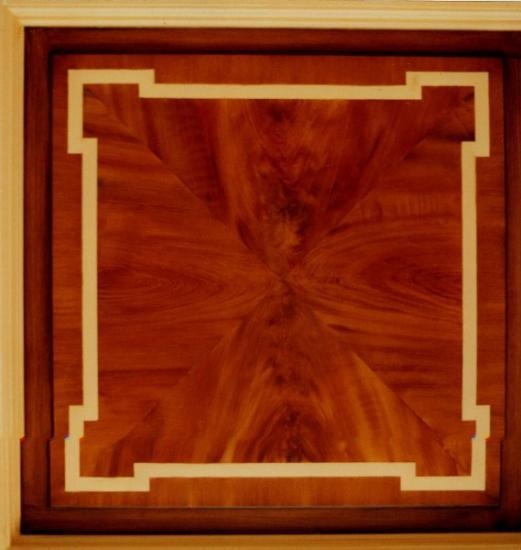 Faux Bois Acajou : imitation acajou, faux bois, faux marbres, fresques, trompe-l'oeil
