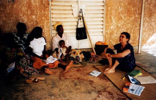 Maradi Travail avec les femmes au village