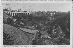 Néris les Bains - Viaduc et Moulins