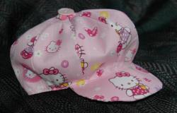 Petite casquette de petite fille 2ans