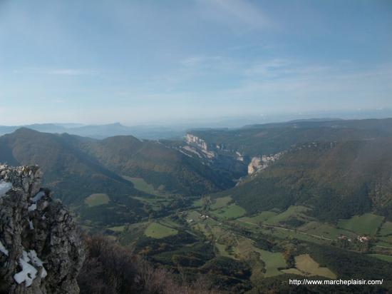 Vue du Plateau d'Ambel