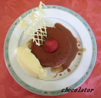 Mousse au chocolat fourr es la cr me brul e et son - Mousse au chocolat a la creme ...