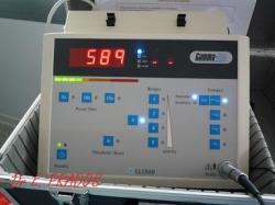 Détection de la radioactivité par compteur gamma / Med-Sein  / Dr E. PRADOS