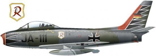 North American F 86-F