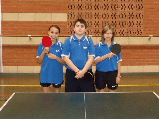 Equipe Jeunes 3 ( Amandine, Romain et Océane )