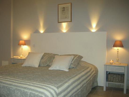 tete de lit avec eclairage - mobilier sur enperdresonlapin