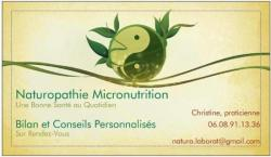 Naturopathie Aromathérapie Micronutrition