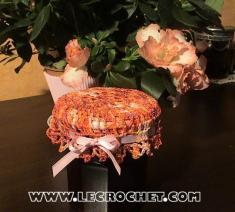 chapeau pot de confiture crochet
