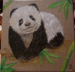 Jeune panda