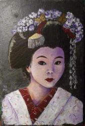 Geisha Violine