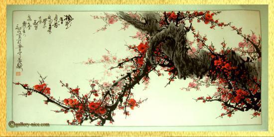 encre-fleurs-rouges