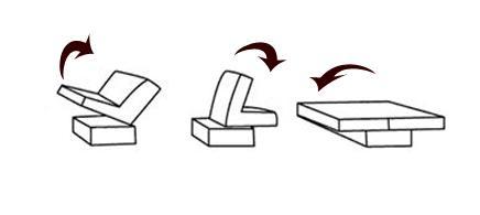 banquette clic clac ou bz. Black Bedroom Furniture Sets. Home Design Ideas