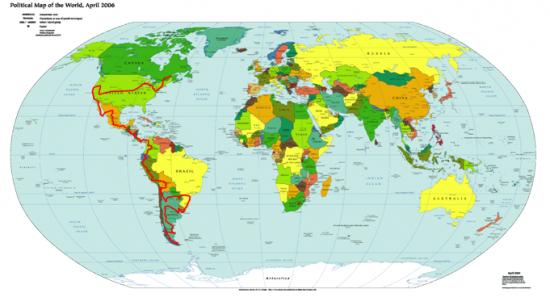 Itineraires reels pays par pays