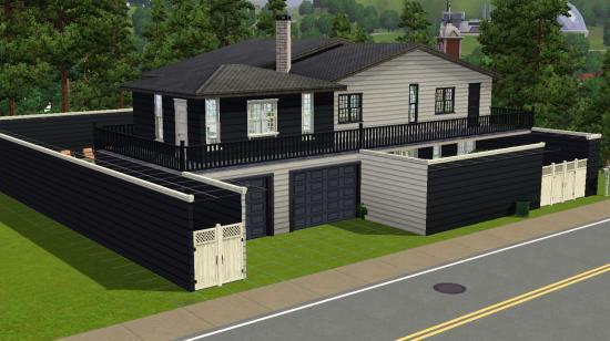 12 avenue de la gloire for Maison moderne de luxe sims 3