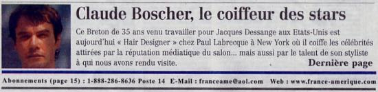 France Amérique Octobre 2002