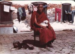 Lama Gyen Yeshe avec Ngosu et Katu
