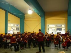 Orquesta Vanguardia Ikeda tocando - Ush