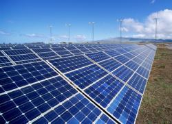 Une centrale photovoltaïque