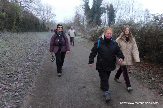 Ghislaine, Laura, Annick