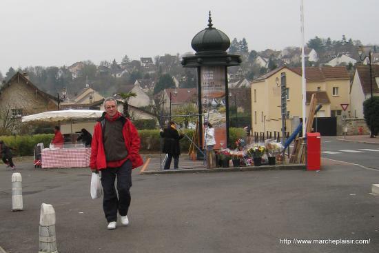 Osny, à la fin du marché