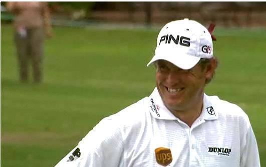 Lee Westwood, le meilleur golfeur du monde en 2010