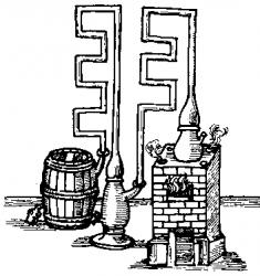 Une colonne pré-industrielle