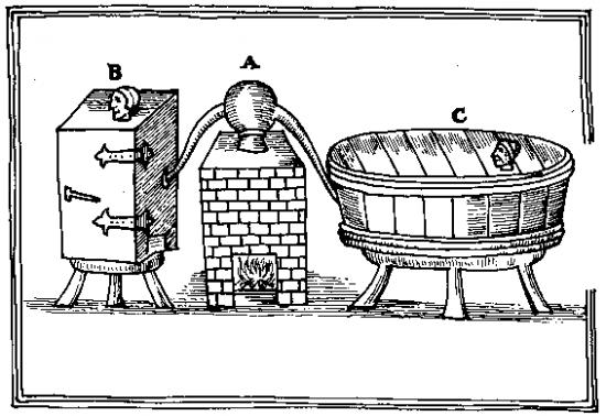 Sorcières au bain & hammam (à moins qu'il ne s'agisse du supplice réservé aux sorcières fraudeuses ?)
