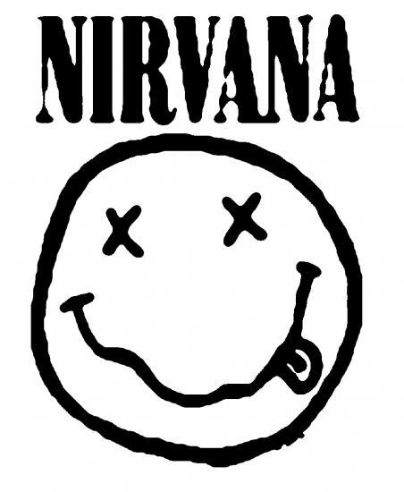 nirvana coloring pages   Nirvana Coloring Pages Coloring Pages