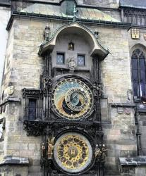 Horloge astronomique de Prague.