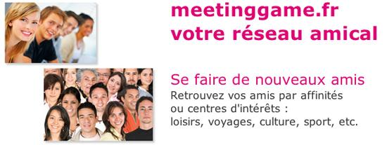 Definition rencontre amicale