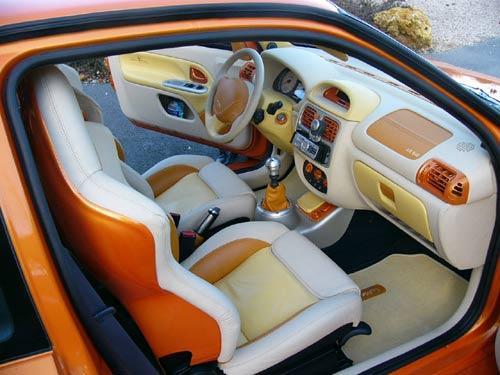 Le style int rieur et sono for Renault clio 2 interieur