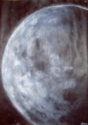 peinture lune