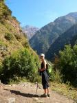 Remontée de la vallée du Langtang