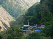 Végétation tropicale du fond de la vallée