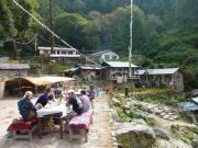 Rassemblement de   lodges à Bambou