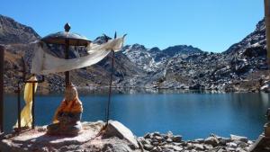 Lac sacré de Gosainkund