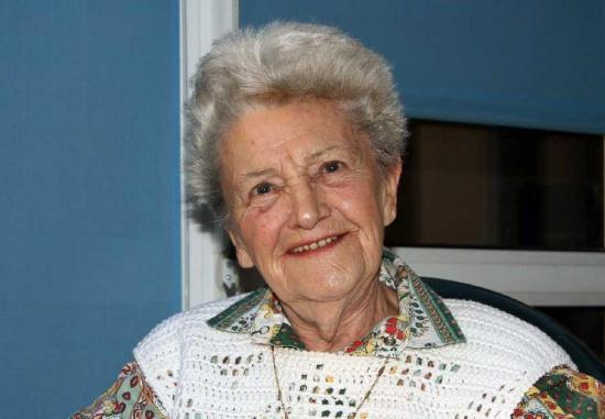 Yvonne le 3 août 2008
