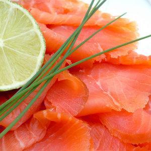 saumon fumé noel
