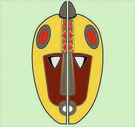 masque moitiés