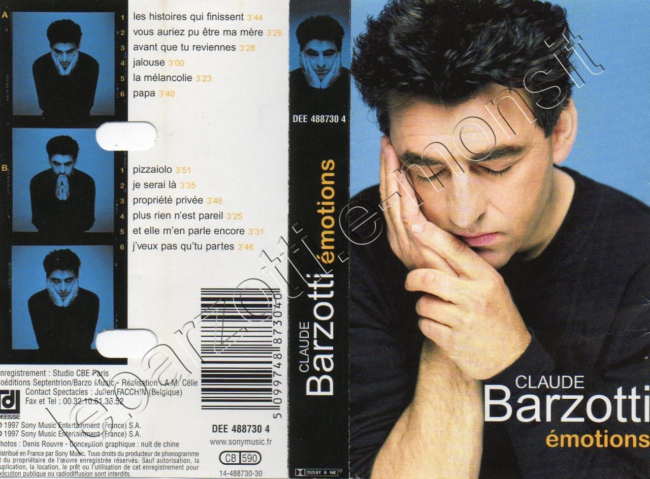 Emotions DEE 488730.4 CB 590 Disques Déesse 1997