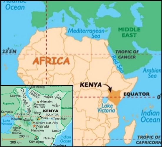 kenya map nairobi africa afrique Mormotomyia Hirsuta mouche hirsute poilue découverte entomologie zoologie Robert Copeland décembre 2010 Ashley Kirk-Spriggs Ukazi Hill