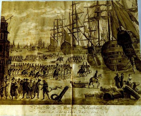 Prise de la flotte Hussards Hussard Husar Husaren