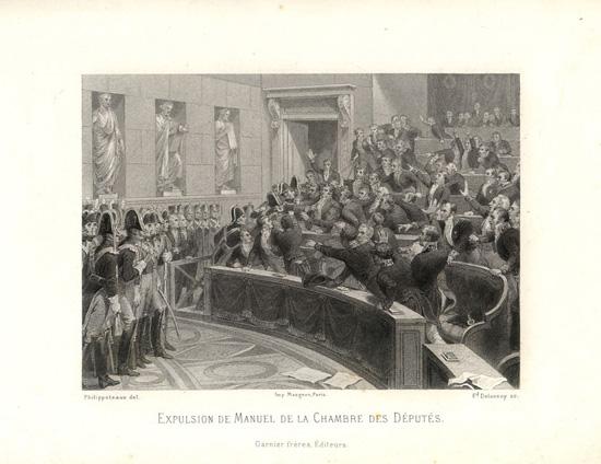 Expulsion de Manuel