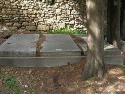 Tombes famille Gide - Uzès