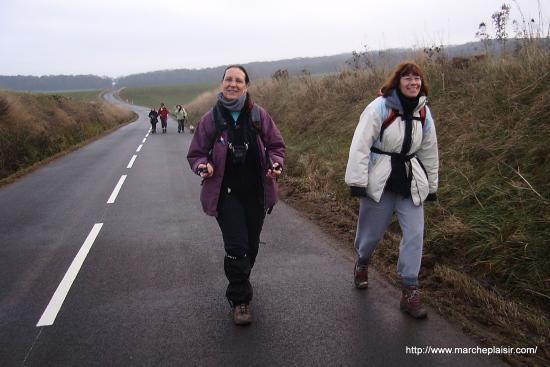 Annick et Valérie sur la D81