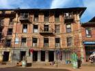 Architecture délabrée du vieux Dhulikhel