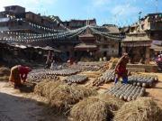 Place des Potiers de Bakhtapur