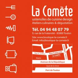 Les Cours De Cuisine Chez Vous Ou à La Boutique La Comète à Toulon